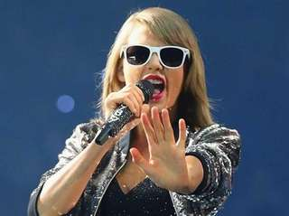 Taylor Swift performs onstage during the 1989 World