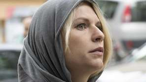 Claire Danes as Carrie Mathison in Homeland, seen