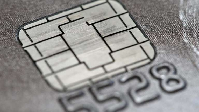 Credit cards now include chips to help keep