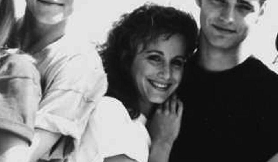 Carteris was shy, book-smart Andrea Zuckerman, who harbored