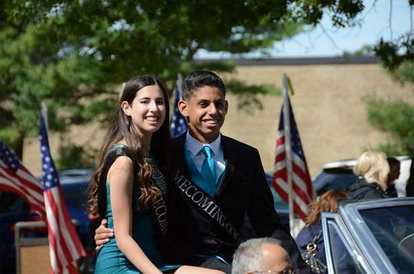 Commack High School homecoming court nominees Kelsey Fisher