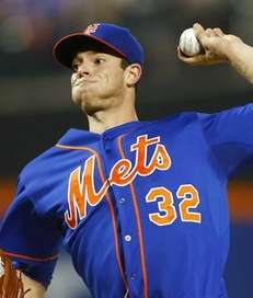 Steven Matz, #32 of the New York Mets,