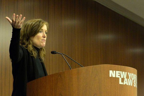 Rep. Kathleen Rice was the keynote speaker during