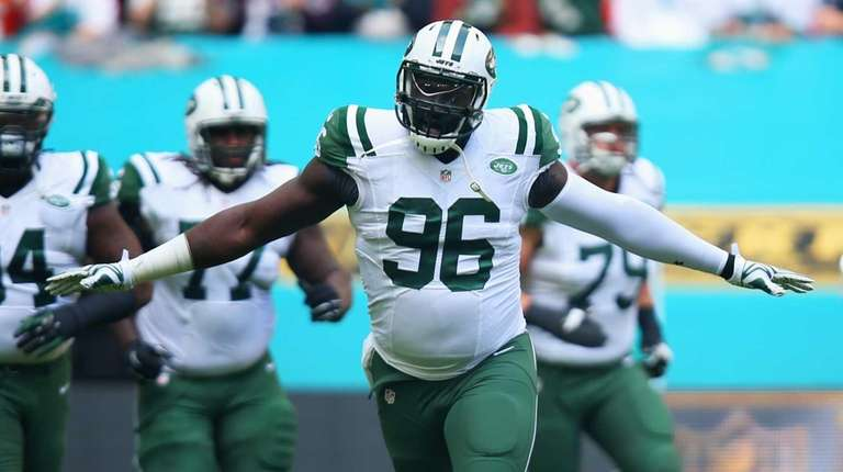 Muhammad Wilkerson #96 of the New York Jets