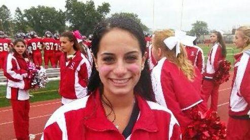 Smithtown High School East cheerleader Gianna Bongiorno didn't