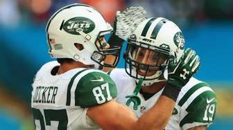 Eric Decker #87 of the New York Jets