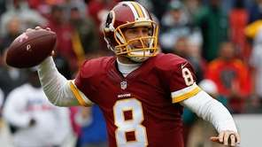LANDOVER, MD - OCTOBER 04: Quarterback Kirk Cousins