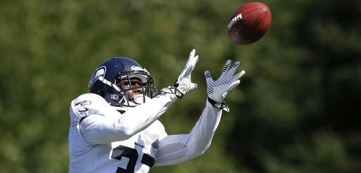 ??Seattle Seahawks' Dion Bailey in action at an