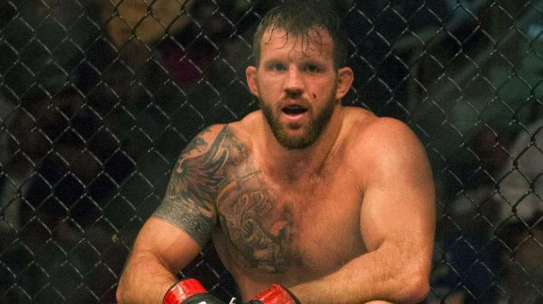 UFC Light Heavyweight Ryan Bader takes a moment