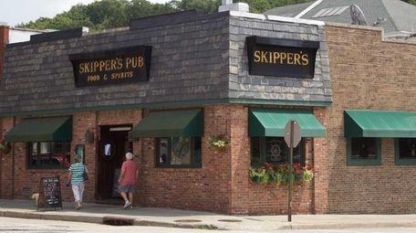 The exterior of Skipper's Pub on Main Street