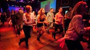 Traditional line dancing is common during Country Night