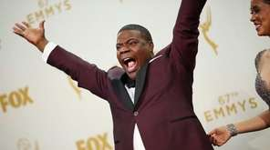 Tracy Morgan at the 67th annual Primetime Emmy