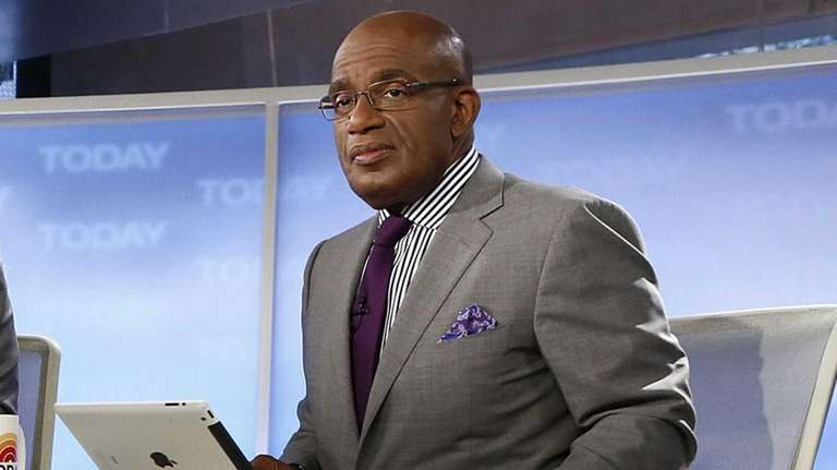 Al Roker on the set of NBC News'