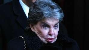 The late Leona Helmsley on Jan. 14, 2003.