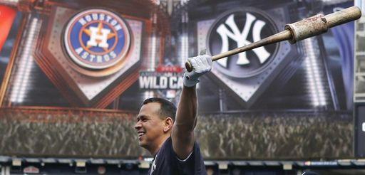 New York Yankees designated hitter Alex Rodriguez swings