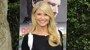Christie Brinkley is seen in East Hampton on