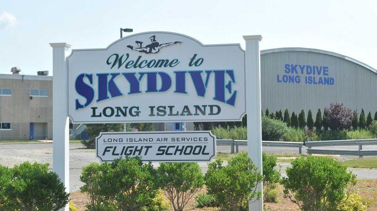 Skydive Long Island in Calverton on July 31,