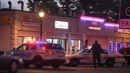 Police respond to a report of shots fired