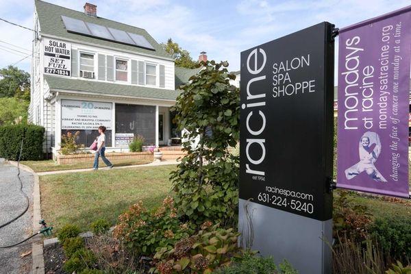 Racine's Salon and Spa in Islip, where Mondays