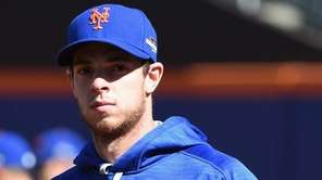 Mets rookie lefthander Steven Matz during a workout