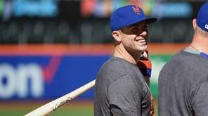 New York Mets third baseman David Wright talks