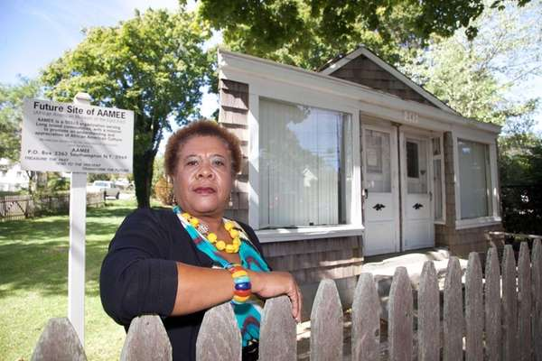 Brenda Simmons, director of the Southampton African-American Museum,