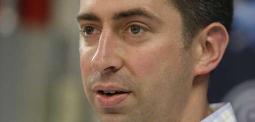 Cleveland Indians general manager Mike Chernoff answers questions