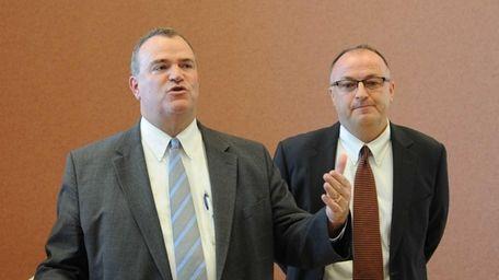 Republican Suffolk County Executive Candidate James O' Connor