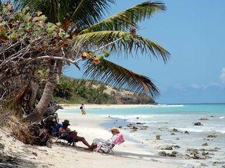 Isla Culebra Puerto Rico USA middle age couple