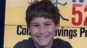 Dante Sasso, 11, a sixth-grader at Amagansett School,