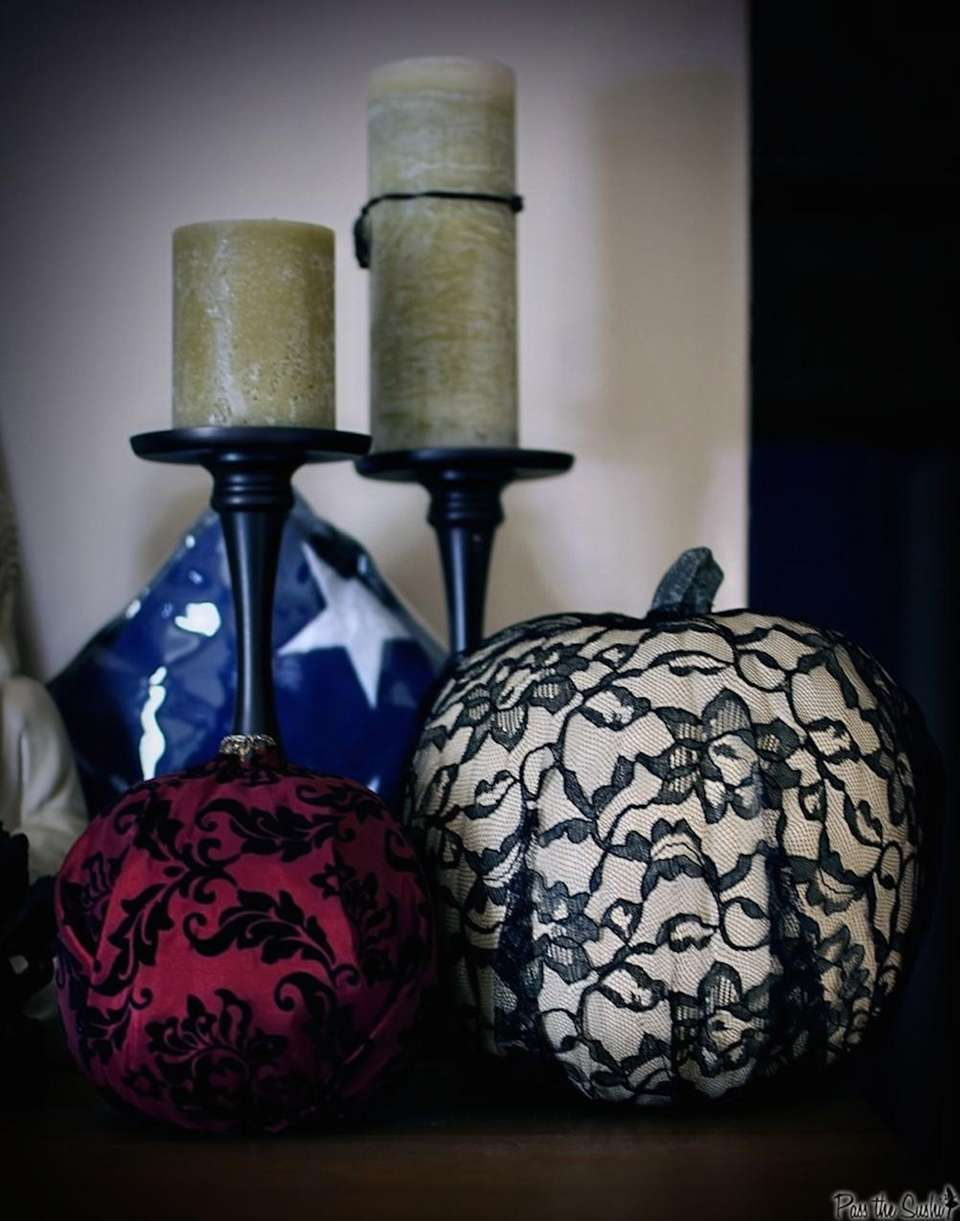 Tired of painting pumpkins? Try this instead: Take