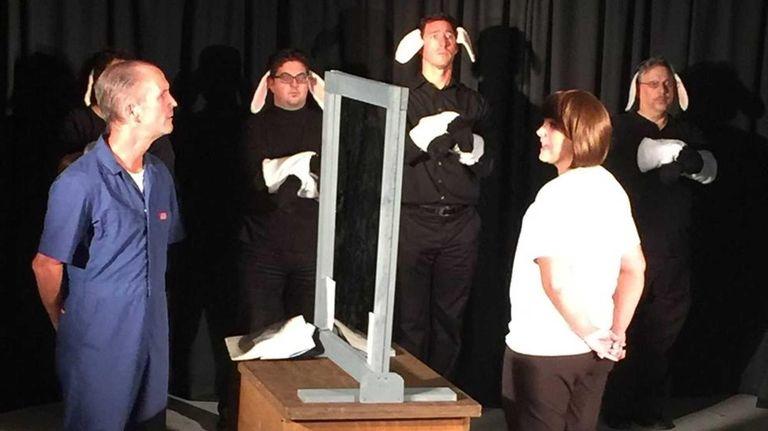 Martin Knapp as Hannibal Lecter and Mary Ann