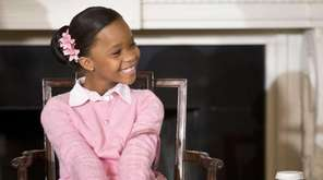 Actress Quvenzhane Wallis, 12, who starred in