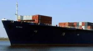The cargo ship El Faro in an undated