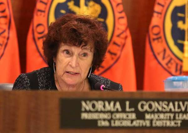 Norma Gonsalves, presiding officer of the Nassau County