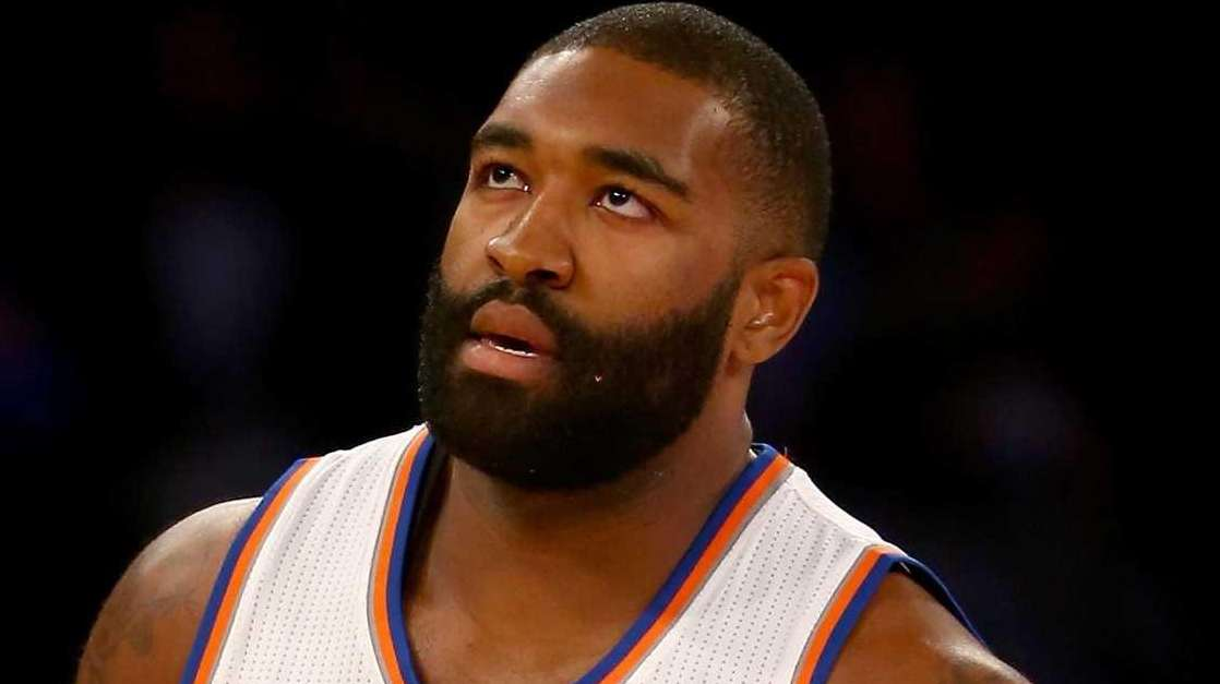 Kyle O'Quinn #9 of the New York Knicks