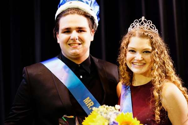 Jacob Semken and Rachel Swenson are crowned Mr.