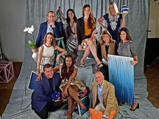 Newsday's all-star interior designers of 2015 gathered for