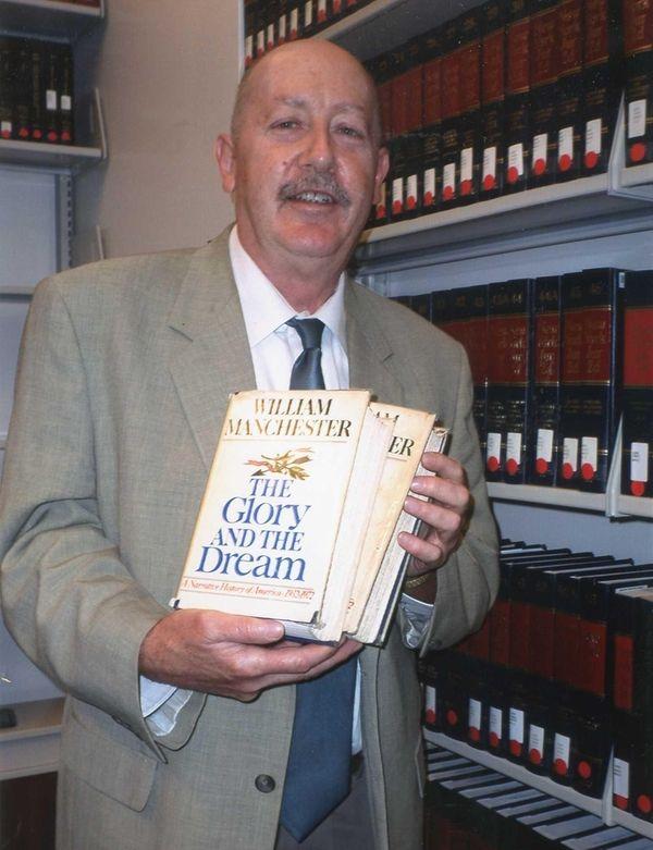 As a young man, John J. Cox read