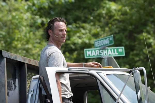 Andrew Lincoln as Rick Grimes in