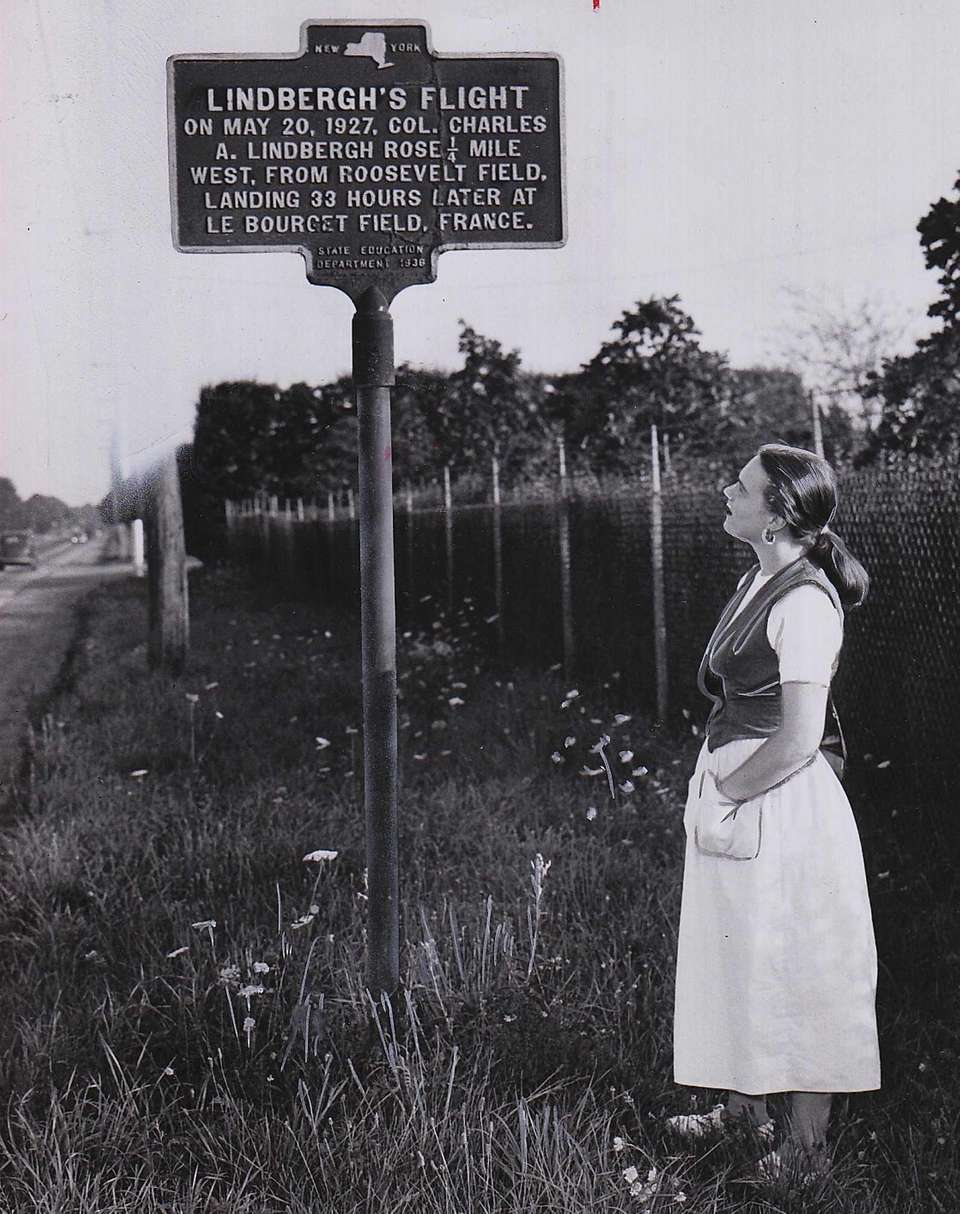 In this picture from 1950, Daphne Hall of