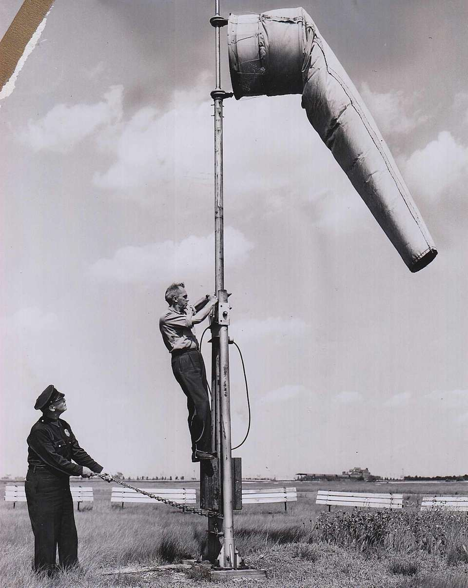 On May 31, 1951, Lewis H. Miller takes