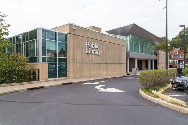 The Port Washington Public Library, shown on Oct.