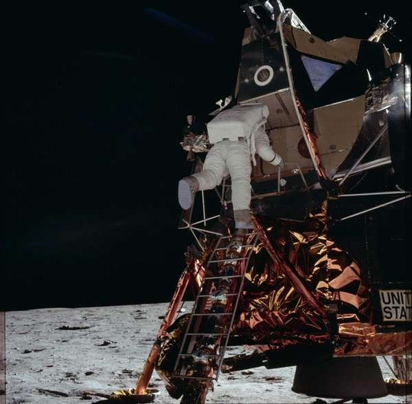 Apollo 11 was the first manned landing on
