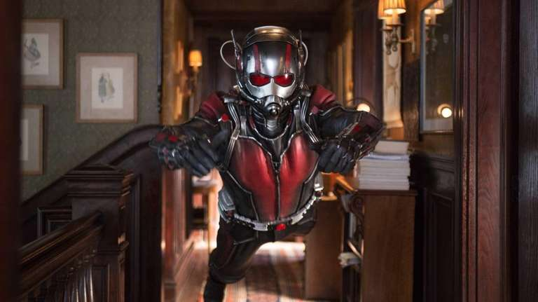 Paul Rudd appears as Scott Lang/Ant-Man in a