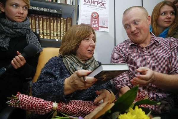 Belarusian journalist and writer Svetlana Alexievich, the 2015
