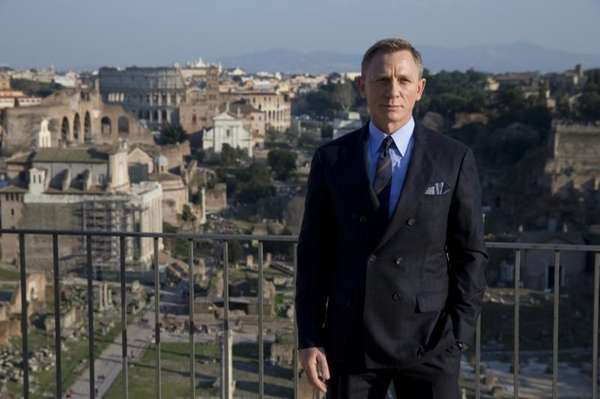 Actor Daniel Craig poses during a photo call