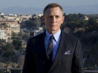 Actor Daniel Craig poses during a photo call