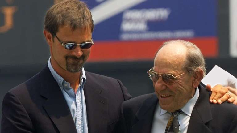 Former New York Yankees first baseman Don Mattingly,