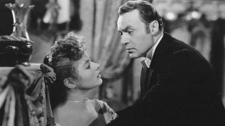 Ingrid Bergman and Charles Boyer in